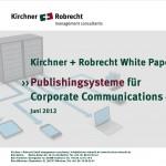 Publishing Kirchner Titelblatt