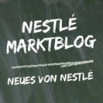 Das Logo zum Nestlé Marktblog