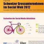Schweizer Grossunternehmen im Social Web 2012 HWZ