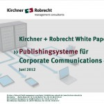Whitepaper Publishingsysteme für integrierte und crossmediale Corporate Communications