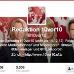 Redaktion 10vor10 SRF Twitter