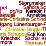 Word Cloud Deutschsprachige PR-Blogs