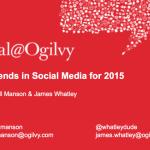 Social Ogilvy Trends 2015