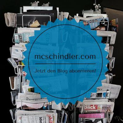 Blog mcschindler.com abonnieren Online-PR Online-Kommunikation