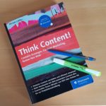 Think Content Miriam Löffler Cover Rezension Fachbuch