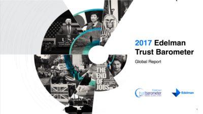 Edelman Trust Barometer 2017