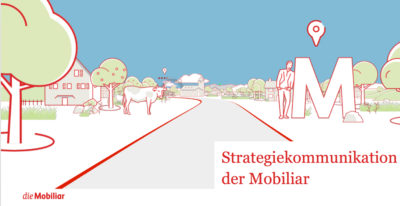 Strategiekommunikation Mobiliar Strategiemap