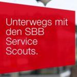 SBB Service Scouts Zufriedenheit