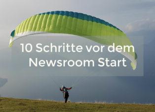 Newsroom Konzeption Checkliste mcschindler.com