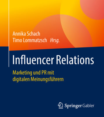 Rezension Influencer Relations Annika Schach Timo Lommatzsch