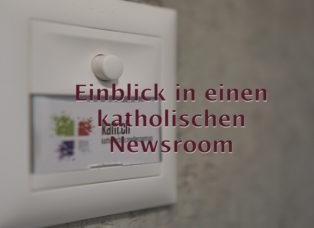 Katholisches Medienzentrum Newsroom Zürich