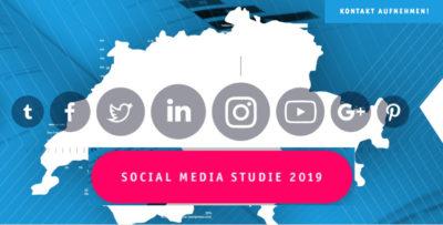 Social Media in der Schweiz 2019 Befragung Studie