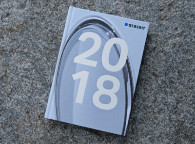 Geberit Jahresbericht Geschäftsbericht Buch