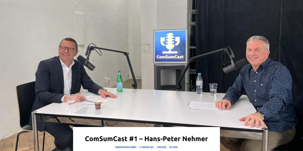 ComSumCast Hans-Peter Nemer und Reto Lipp Kommunikation bei der Allianz Suisse