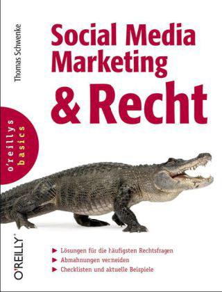 Cover von Social Media Marketing & Recht von Thomas Schwenke