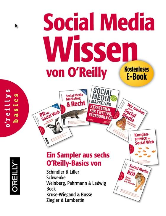 Cover Social Media Wissen von OReilly